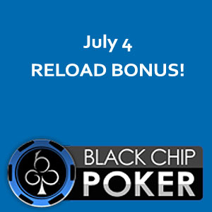 Reload Bonus at Black Chip Poker